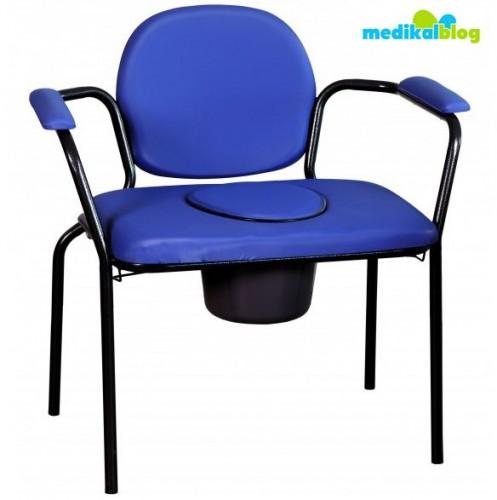 Kilolu hasta tuvalet sandalyesi